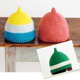 手編みで作る!シンプルでかわいいどんぐり帽子の作り方(子ども)