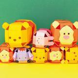 折り紙で作る!立体的なかわいいツムツムのプーさんの折り方