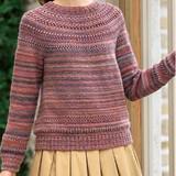 グラデーションがおしゃれ!シンプルなセーターの編み方