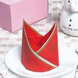 簡単!ナプキンの折り方「王冠」クリスマスパーティーにもおすすめ
