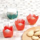 【折り紙】小物入れにも!立体的なチューリップの折り方