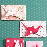 お正月やお祝いに折りたい*鶴のポチ袋Aの折り方(おりがみ)
