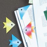 簡単にかわいい!折り紙で作る魚のしおり・ブックマークの折り方