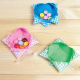 【簡単!折り紙】お菓子入れやアクセサリー入れになる箱の作り方