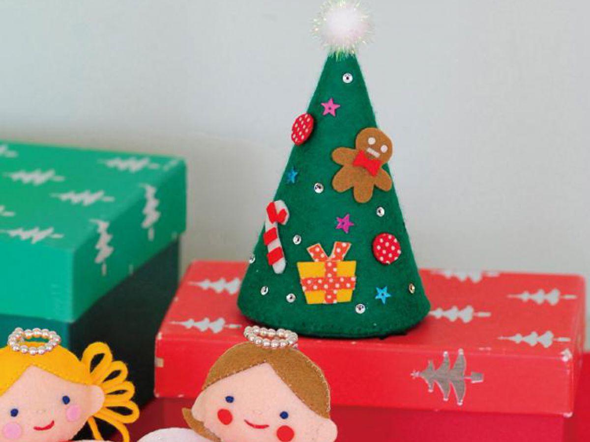 フェルトで手作り!可愛いクリスマスツリーの作り方|ぬくもり