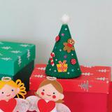 フェルトで手作り!可愛いクリスマスツリーの作り方