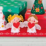 クリスマスの製作!フェルトの天使(エンジェル)の作り方