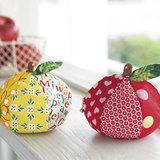 ファスナー&マチ付き!まん丸リンゴのかわいいポーチの作り方