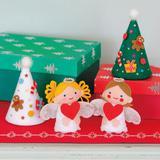 布のはぎれやフェルトで製作する「クリスマス布小物」作り方5選
