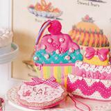 かわいいポーチを手作り♪カラフルな「カップケーキ型ポーチ」の作り方