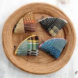 和布で作る!カラフルなファスナーが可愛い小さなポーチの作り方