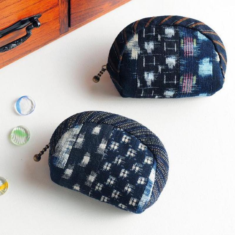 和柄のデザインがおしゃれ!和布のポーチの作り方(7作品)