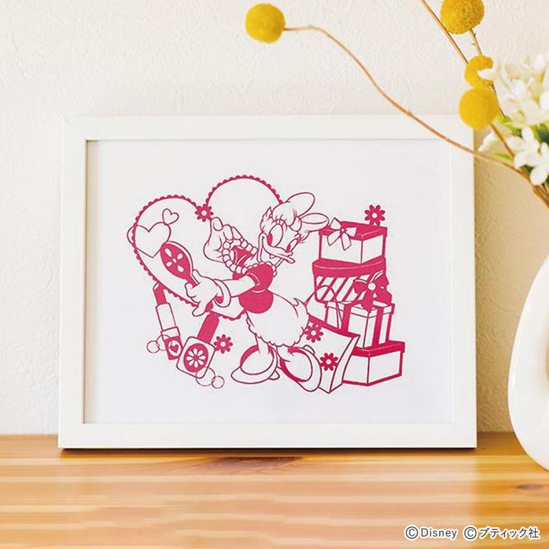 「デイジーの切り絵」の作り方│ディズニーハンドメイド