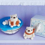 動物をかわいいあみぐるみで☆手作りのシロクマの編み方