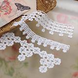 ベビー小物のアクセントにおすすめ!かわいい小花のブレードレースの編み方(編み物)