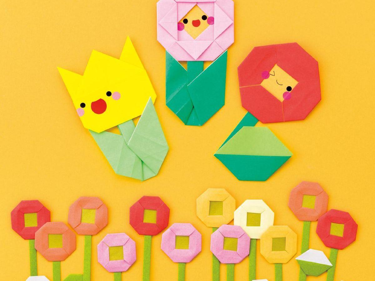 お花 折り紙