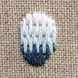 ロング&ショートステッチの刺し方(作り方基礎)