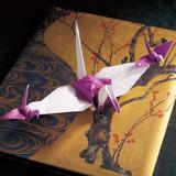 変わり種も実は簡単♪折り紙の鶴「九万里」の折り方