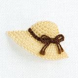 手作り!立体的でかわいい帽子デザインの刺しゅうのやり方