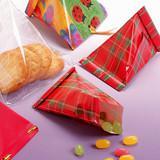【折り紙でラッピング】テトラ型パッケージの作り方
