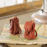 革で手作り!ふっくらシルエットのミニチュアのリュックの作り方(ミニチュア小物)