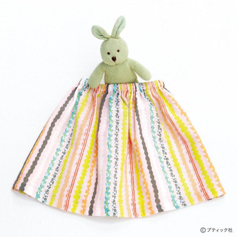 まっすぐ切ってまっすぐ縫うだけ!子ども用の簡単シンプルなスカートの作り方(子ども服)