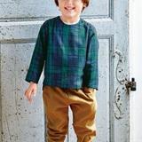 子ども用のプルオーバーの型紙・パターン(実物大)