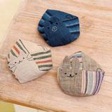 簡単に手作り!和布で作るかわいいネコ&くま&うさぎの動物お手玉の作り方(布小物)