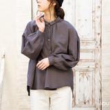 ペザントスリーブシャツ&ワンピースの型紙・パターン(実物大)