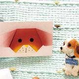 お正月に最適!折り紙で動物形♪かわいい犬のポチ袋の折り方