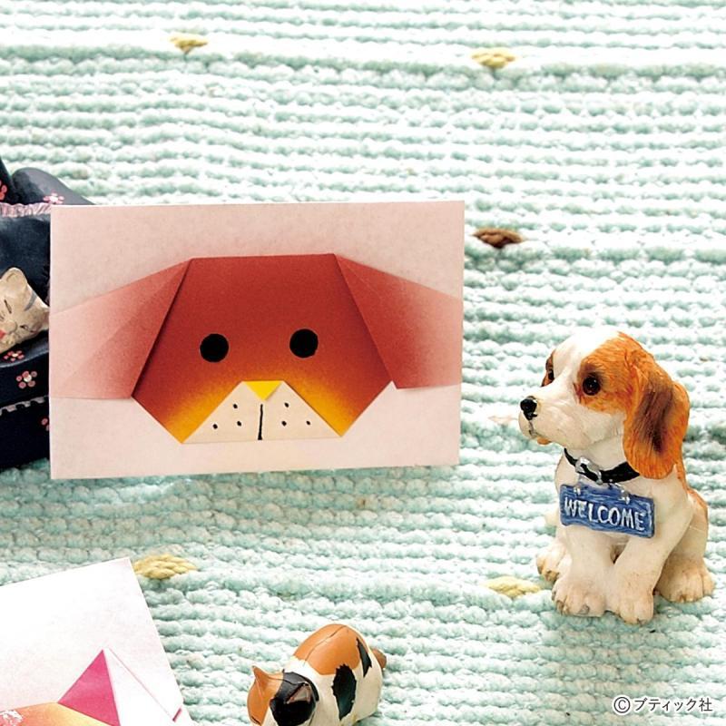 簡単でかわいい♪『犬の折り紙』の折り方