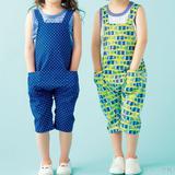 七分丈がおしゃれ!男の子も女の子も履けるサロペットの作り方