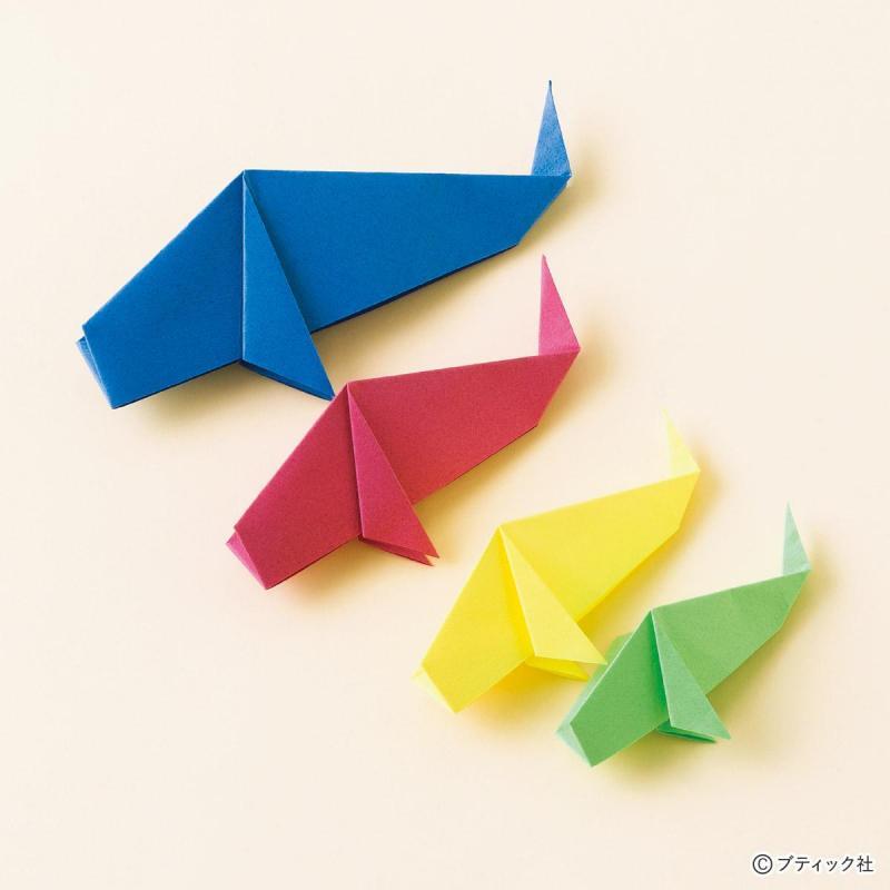 折り紙で作る!こどもにも簡単な「鯉のぼり」の折り方