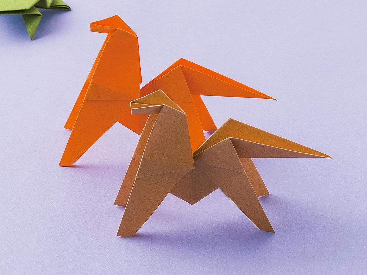 リアル 折り紙 立体 動物