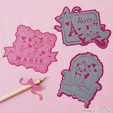 切り絵で作る!かわいいマリーのメッセージカードの作り方(ディズニーハンドメイド)