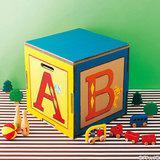 【夏休み工作】カラフルなダンボールのおもちゃ箱の作り方