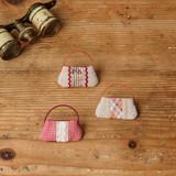 はぎれをアレンジして作れる!ワンハンドルのミニチュアバッグの作り方(布小物)