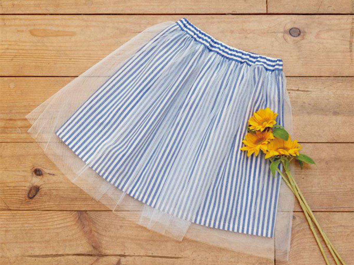 簡単!女の子のかわいいキッズサイズのふんわりチュールスカート