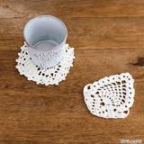 初心者さんにおすすめ!パイナップルモチーフのかぎ針編み作品の作り方(編み物)