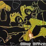 大ヒット作から厳選したディズニーのイラストがスクラッチアートに!