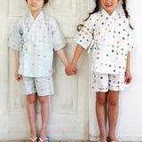 子ども用の甚平の型紙・パターン(実物大)