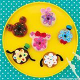 カラフルなお菓子♪ディズニードーナツのあみぐるみの作り方