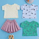 兄妹でおそろい!男女兼用の子どもの手作り夏服の作り方(6作品)