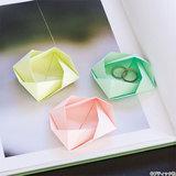 簡単に手作り!あると便利!折り紙で作る小物入れの作り方