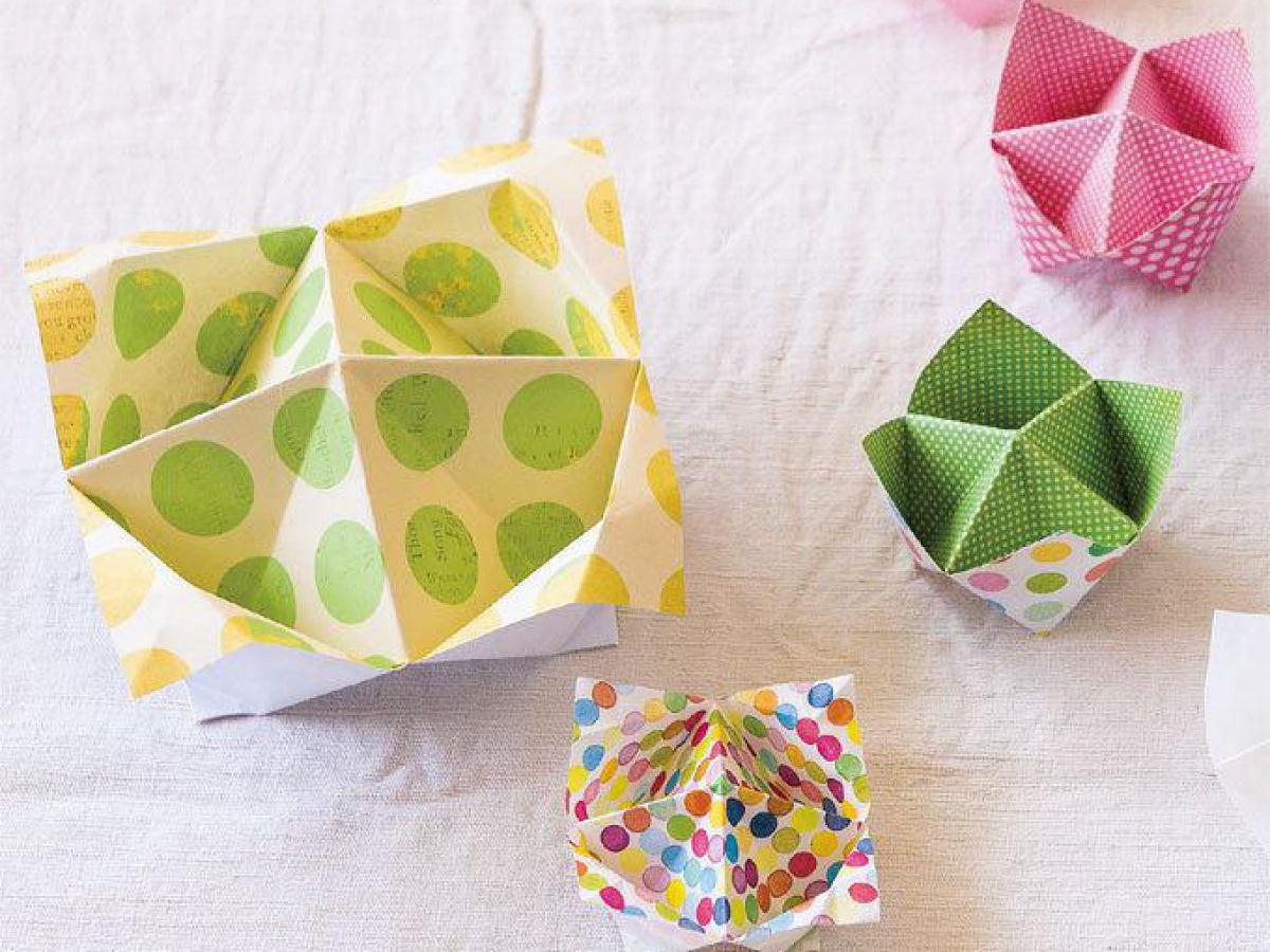 簡単 折り紙 箱