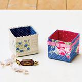 簡単リサイクル作品!はぎれと牛乳パックで作るかわいい小物入れの作り方(リサイクル雑貨)