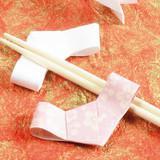 飲み会で話題★箸袋が簡単に変身!千代結びの箸置きの折り方