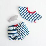 子ども・ベビーに!夏のマリンスタイルの服と小物の作り方(6作品)