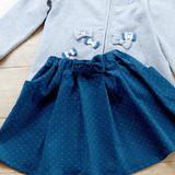 簡単!リボンとポケット付きの子供用スカートの作り方(子ども服)