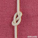 8の字結びの結び方(作り方基礎)